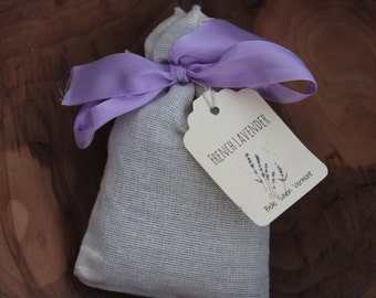 French Lavender Sachets-Favors-Gifts-Home Care- Belle Savon Vermont