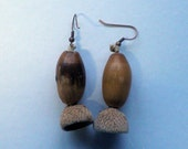 "Acorn earring ""Autumn"""