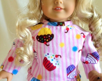 American Girl Doll Pajamas & Teddy Bear