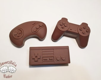 Classic Gaming Controller Chocolate Truffles. Set of 6. Flavors and Fillings of your choice.