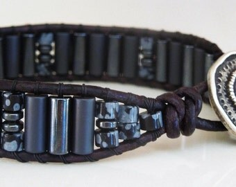 Loved D'Marie Mens wrap bracelet