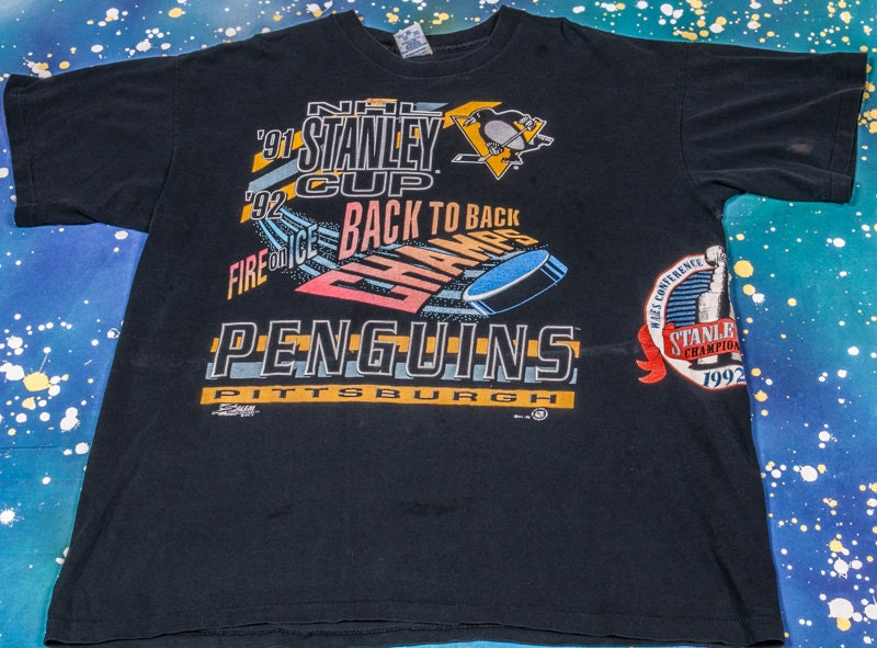 Pittsburgh Penguins Stanley Cup Hockey Shirt By