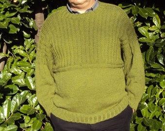 Gansey Knitting pattern  .Guernsey (Gansey) Knitting Instructions.  Traditional Fishermens Jumper Aran PDF TUTORIAL. Men Jumper Pattern