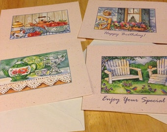 Multi Occasion  Greeting Cards - Set of 4