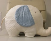 Organic Cotton Fabric Stuffed Elephant - Free from toxic chemicals, Soft and Lovely.
