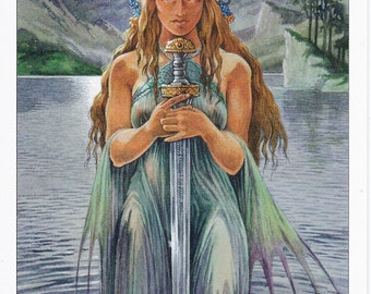 Arthurian Spirit Guide Reading: Discover Your Connection with the Mysteries of Avalon Shamanic Reading Channeling Digital File