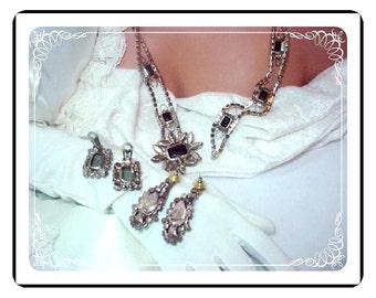 D&E Juliana Belt Demi -  Exceptional Elegance in Dynamic Smoke and Ice Belt-741a-021410155