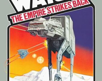 Star Wars 24 x 36 Atari 2600 / RARE Parker Brothers 1982 Full Set Of 3 Video Game Promotional Posters - Video Games ATARI Retro Gift Idea
