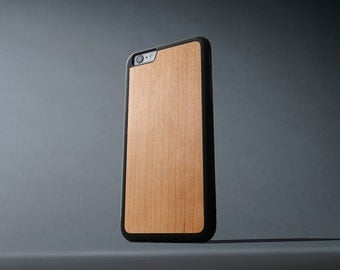 Cherry iPhone 6 Plus / 6s Plus Traveler Wood Case - Made in the USA - FREE Shipping