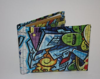Graffiti 2.0 Duct Tape Wallet