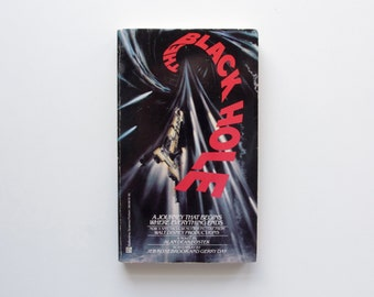 The Black Hole by Alan Dean Foster - Vintage Paperback, Movie Tie In, A Novel Based On the Film, Space Travel