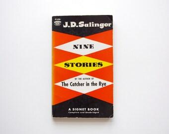 Nine Stories by J.D. Salinger - 1962 - Vintage Salinger Paperback