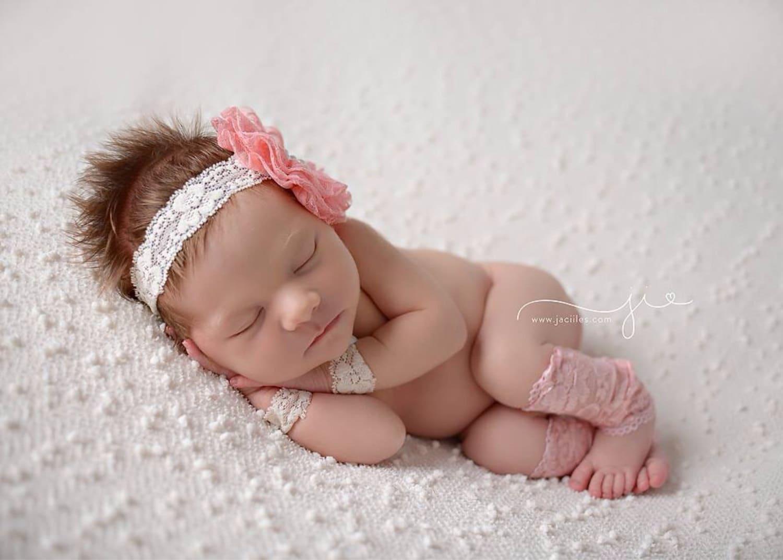 Newborn Lace Leg Warmers And Lace Wristlet Set Newborn Photo