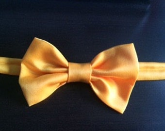 Mustard Yellow Bow Tie