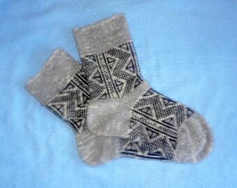Men's Knitted Warm Woolen Thick Socks - Best Price