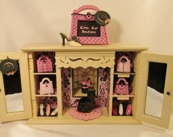 Kitty Kat Boutique Miniature Shop