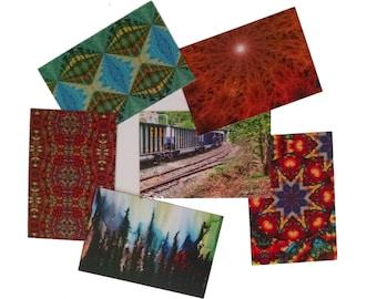 Postcard Misprint Sale Set of 6 Fine Art Postcards