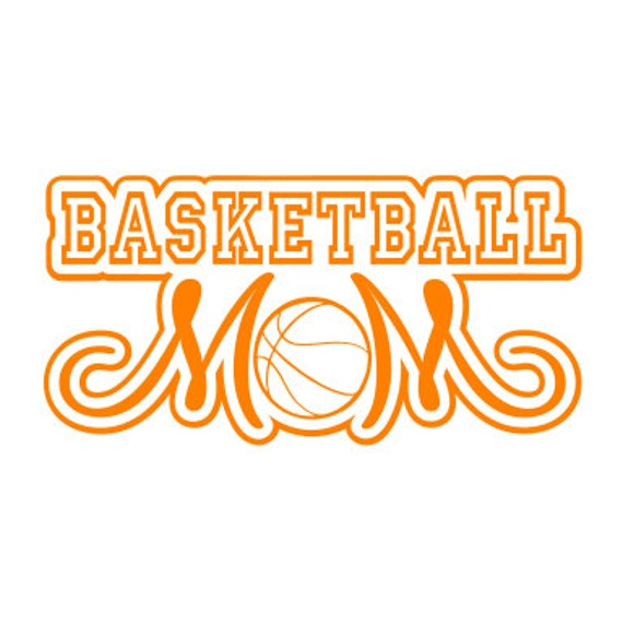 Basketball Mom Car Decal Vinyl Sticker 22 by pinksparkledesigns