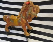 Rempel Rubber Ride on Squeak toy Horse.