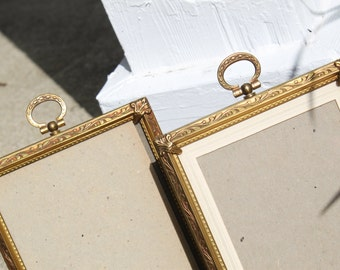 Beautiful Vintage Set Of Two Ornate Frames