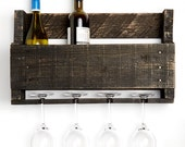 Little Elm wine rack - ebony