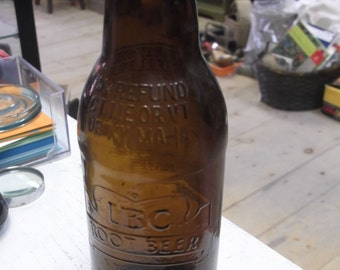Embossed IBC Rootbeer Bottle