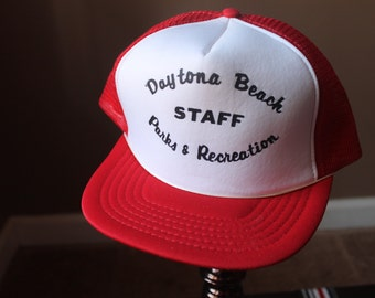 Daytona Beach Parks and Recreation Staff Trucker Hat
