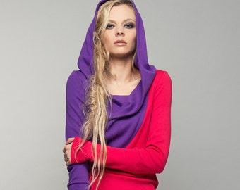 """dress """"schneeglöckchen"""", purple-red"""