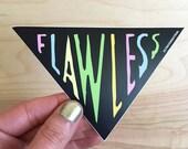 Flawless Beyonce Sticker- vinyl big large decorative sticker