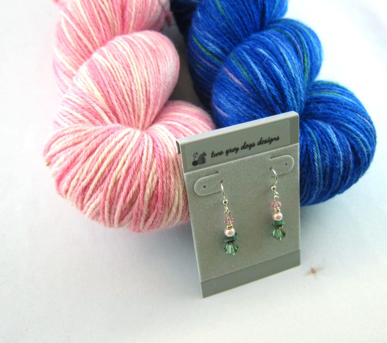 Knitting Gift Set : Knitting gift set strawberry milkshake and pond paddling