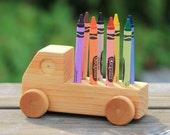 Handmade Wooden Doodle Truck Combo
