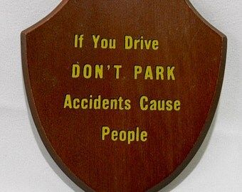 Funny Wall Plaque