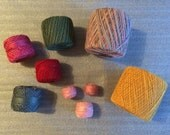 Vintage New Assorted Size 10 Classic Crochet Thread
