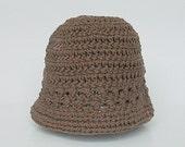 Newborn  Brown Hat Infant Girl  Spring Cotton  Cap 0 To 3  Months Baby Boy Summer  Beanie