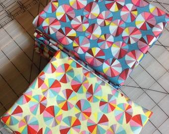 Anna Maria Horner- Field Study Sundials in Happy- Fat Quarter set of 2 100% cotton - #39