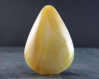 Natural agate cabochon  , Flat back,  semiprecious  Gemstone, Jewelry making Supplies B4723