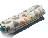 Organic aromatherapy heat pack, organic cotton, organic flannel, natural herbal heating pad, Mothersday Gift