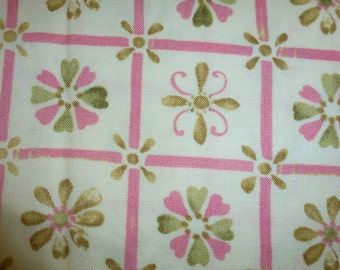 One Half Yard of Quality Quilt Cotton Fabric Designed by Tracy Porter