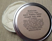 Vegan-Apple & Pumpkin Butter Whipped Body Creme-8oz.with sea buckhorn and organic aloe vera