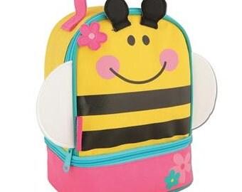 Personalized Stephen Joseph Bee Lunch Box