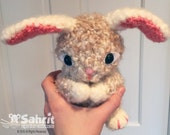 PATTERN Instant Download O-SO-CUTE Pearls the Bunny Easter Crochet Amigurumi Rabbit