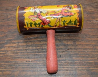 Vintage Kirchhof tin New Years noise maker