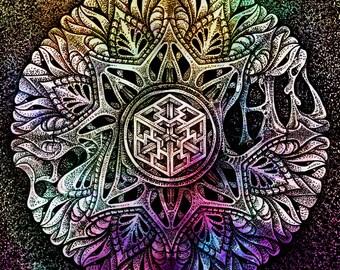 BioMorph Botanical Mandala II