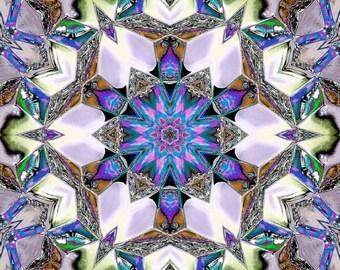 Far Out Kaleidoscope, Digital Art, Abstract Art, Fine Art Photography, Kaleidoscope