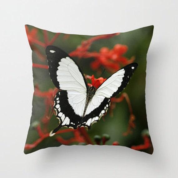 Mocker Swallowtail Butterfly, Outdoor Pillows, Throw Pillow, Pillow Cover, Butterflies, Nature Lover, Housewarming Gift, Living Room Decor