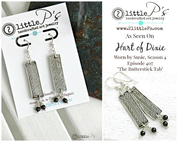2LittlePs - Hart of Dixie Earrings
