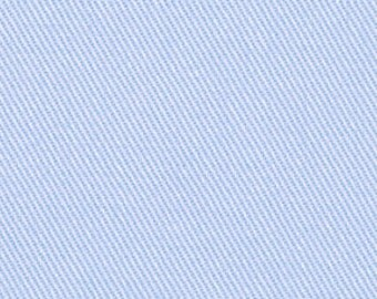 Light Blue Cotton Twill Upholstery Fabric for Furniture - Baby Blue Cotton Curtains - Solid Light Blue Roman Shade - Baby Blue Pillow Covers
