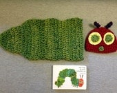 Very Hungry Caterpillar Hat and Cocoon--NO book