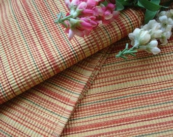 Placemats set of four multi-colored kitchen linens circa 1980s Table linens