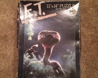 Vintage E.T. Puzzle